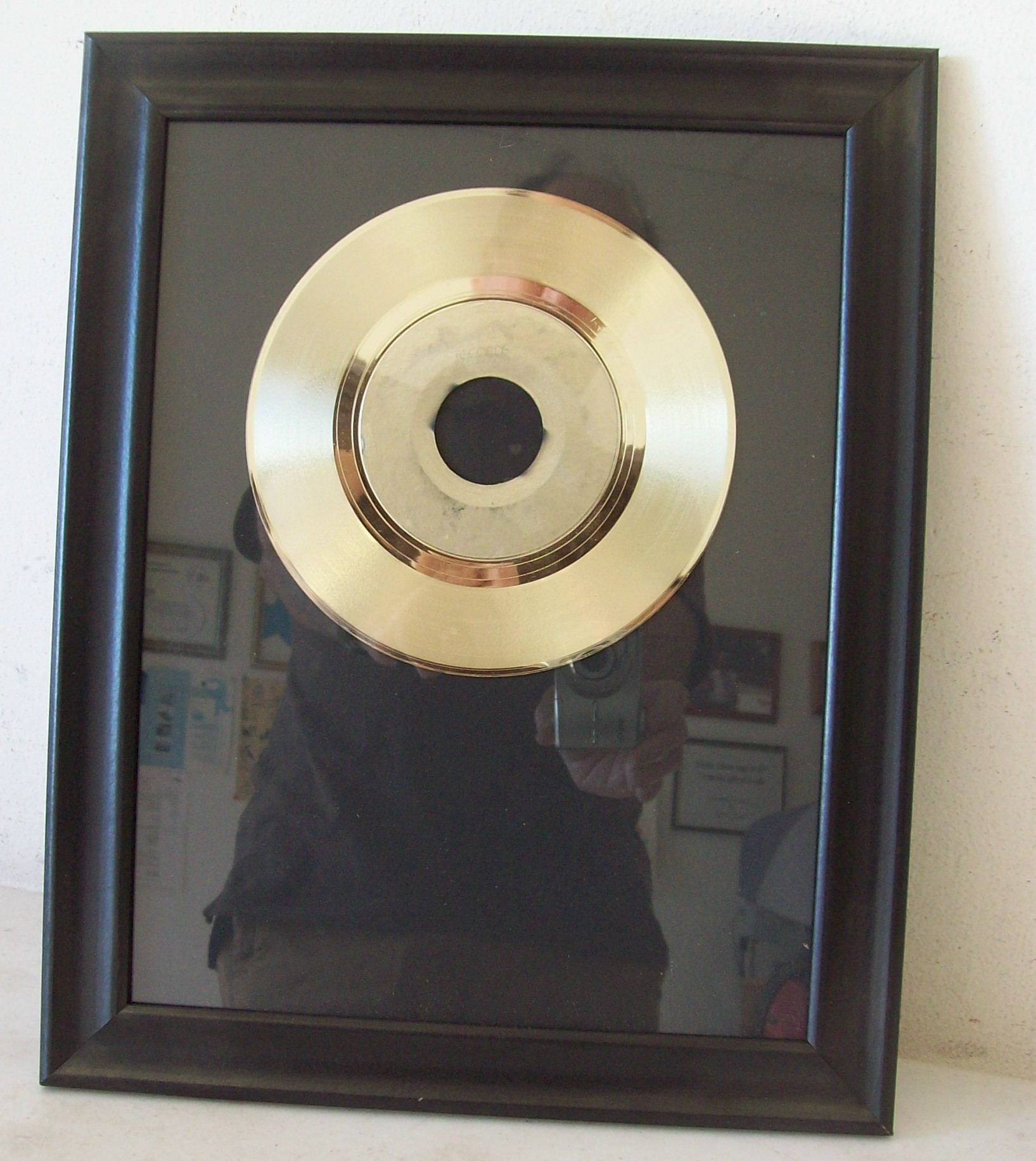Image for Blank Gold 45 Award Trophy