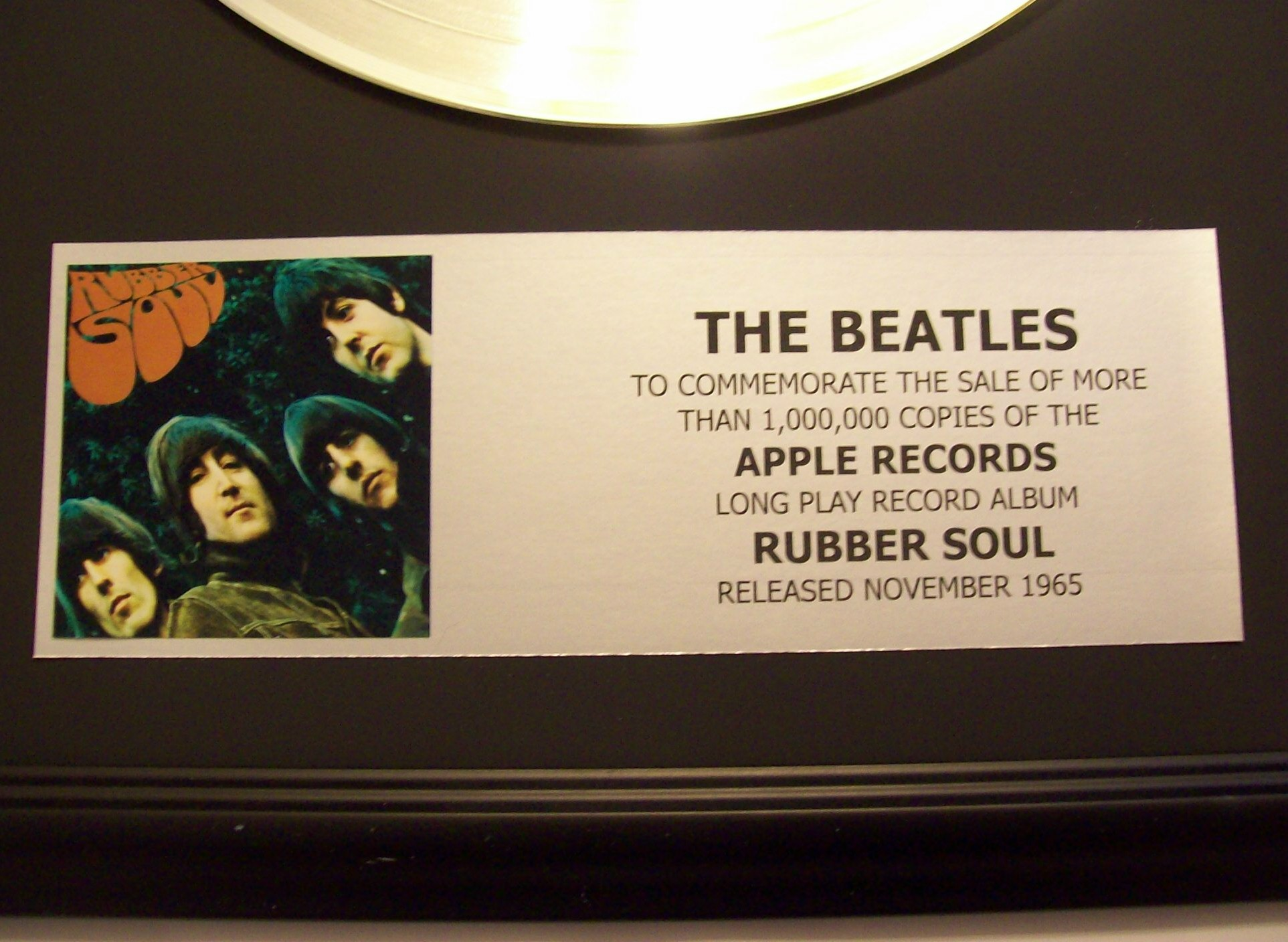 Image for Rubber Soul - Platinum