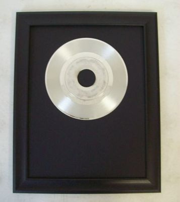 Image for Blank 45 rpm Platinun/Silver Trophy