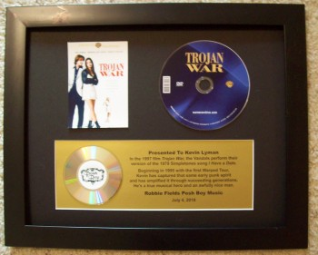 Image for CD Display with custom plaque