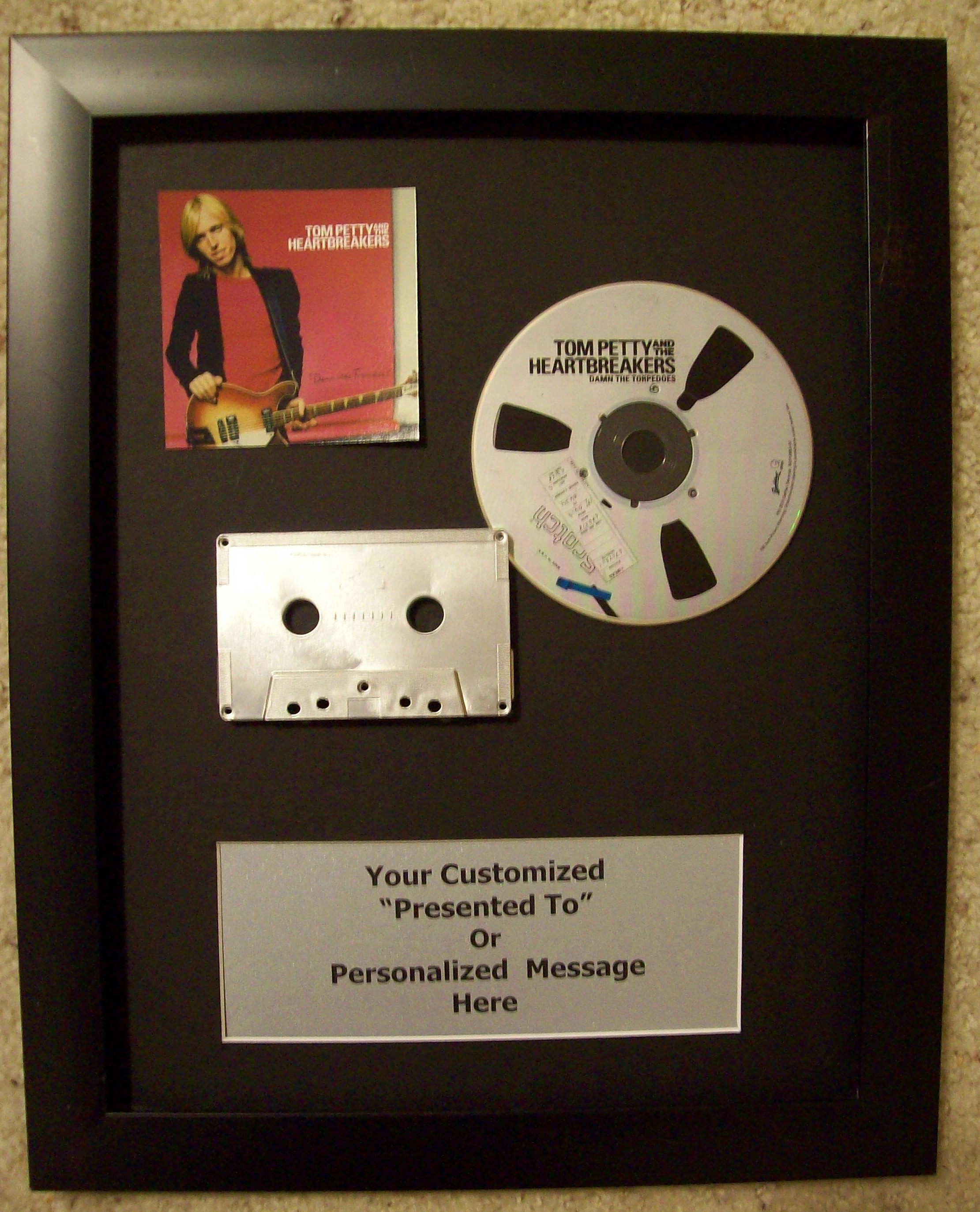 Image for Custom CD Cassette Display Award/Trophy