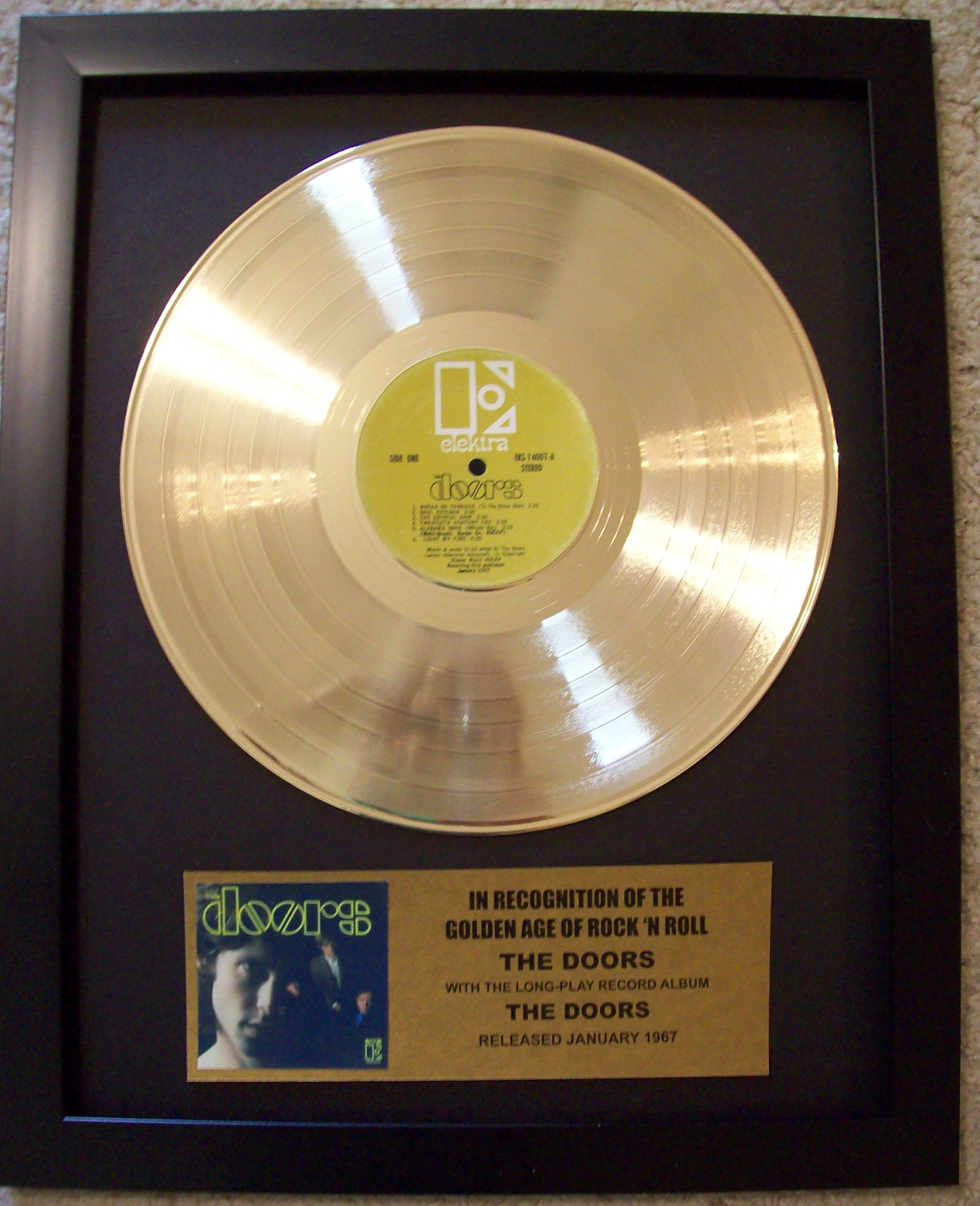 Image for The Doors Gold LP Record