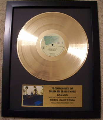 Image for Hotel California Gold Record