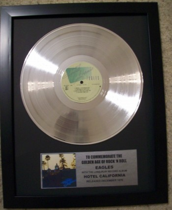 Image for Eagles Hotel California Platinum Album