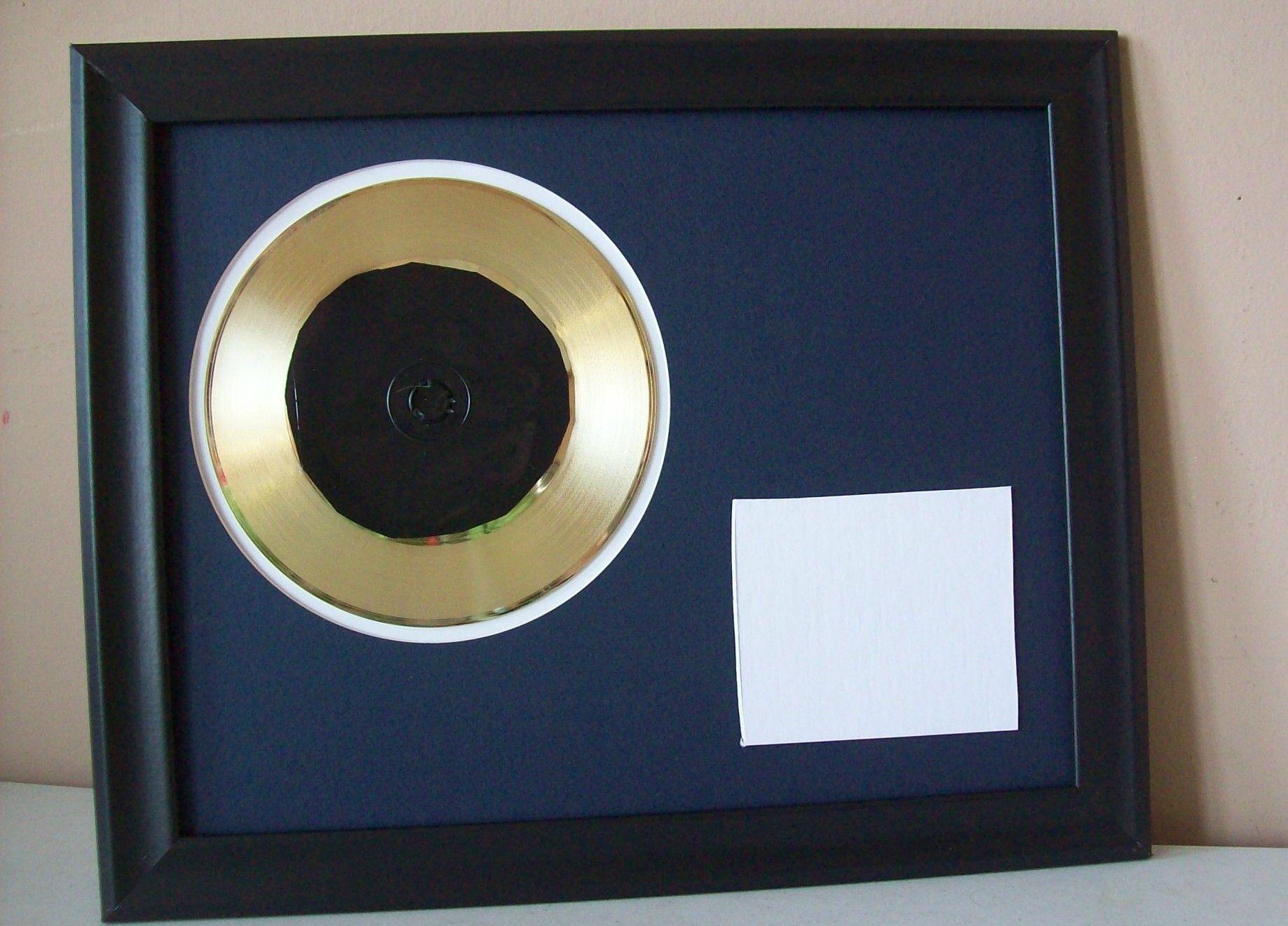 Image for Gold Record 45rpm CD/DVD Display
