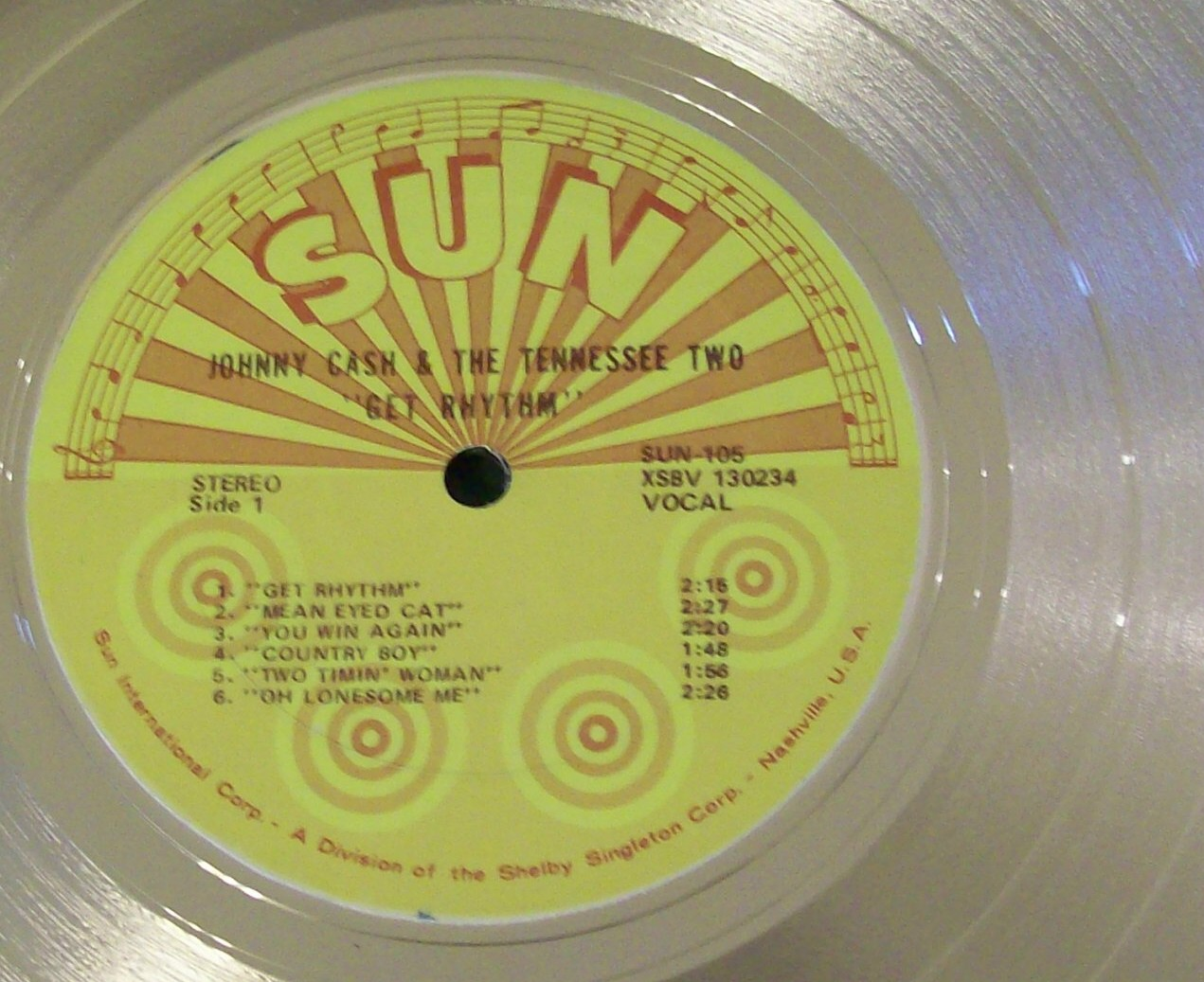Image for Get Rhythm SUN Record