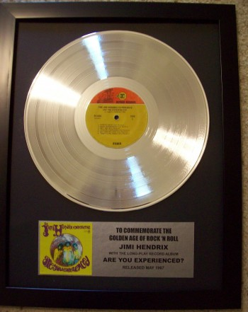 Image for Jimi Hendrix Are You Experienced Platinum