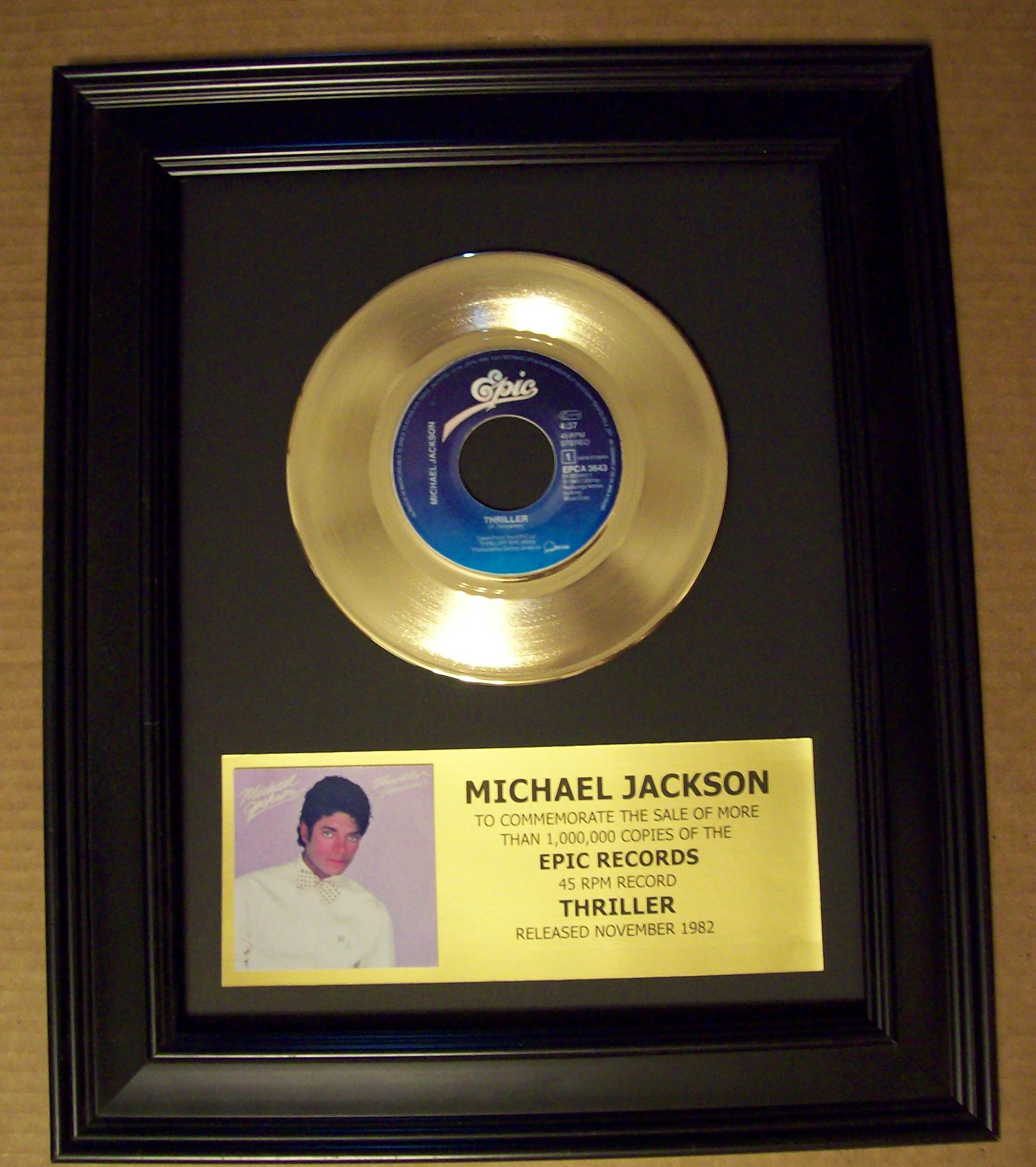 michael jackson lp thriller