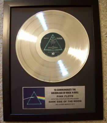 Image for Dark Side Of The Moon Gold Record