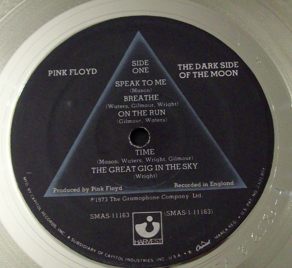 Image for Dark Side of the Moon Platinum Record